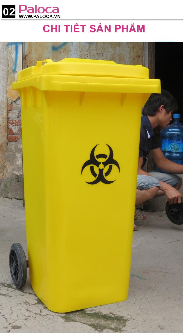 Tổng quan sản phẩm thùng rác paloca RMX-240L