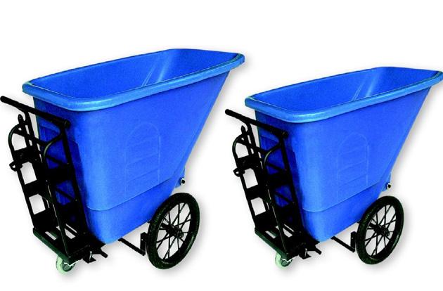 xe thu gom rác tiện dụng