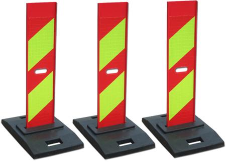 Cọc giao thông nhựa dạng tấm đứng