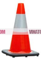 Cọc tiêu chóp nón nhựa PVC