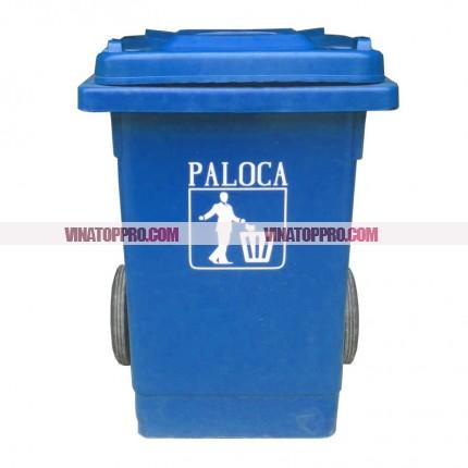 Thùng rác nhựa hdpe 80 lít