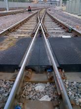 Tấm đệm đường ray