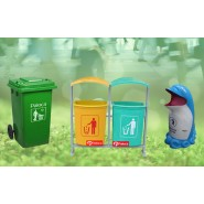 Bán thùng rác tại Lâm Đồng