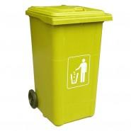 Thùng rác nhựa composite nhập khẩu 240 Lít
