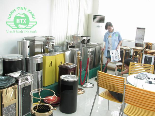 Thùng rác inox đạt chỉ tiêu sẽ được xuất xưởng