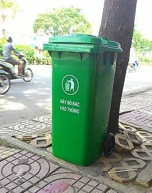 Bán thùng rác tại Bà Rịa - Vũng Tàu