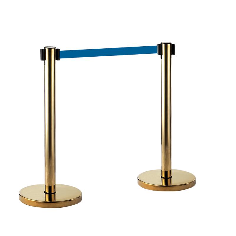 Cột barie dây căng | trụ barie, trụ phân làn