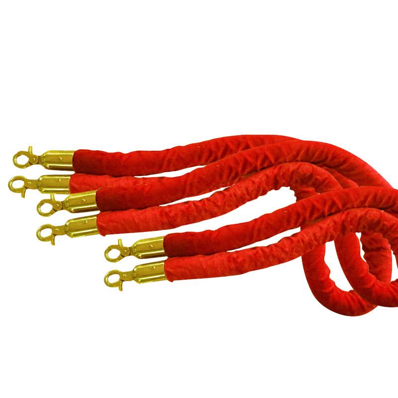 Dây nhung thay thế cột chắn inox | Chuyên cung cấp phụ kiện thay thế cột chắn inox